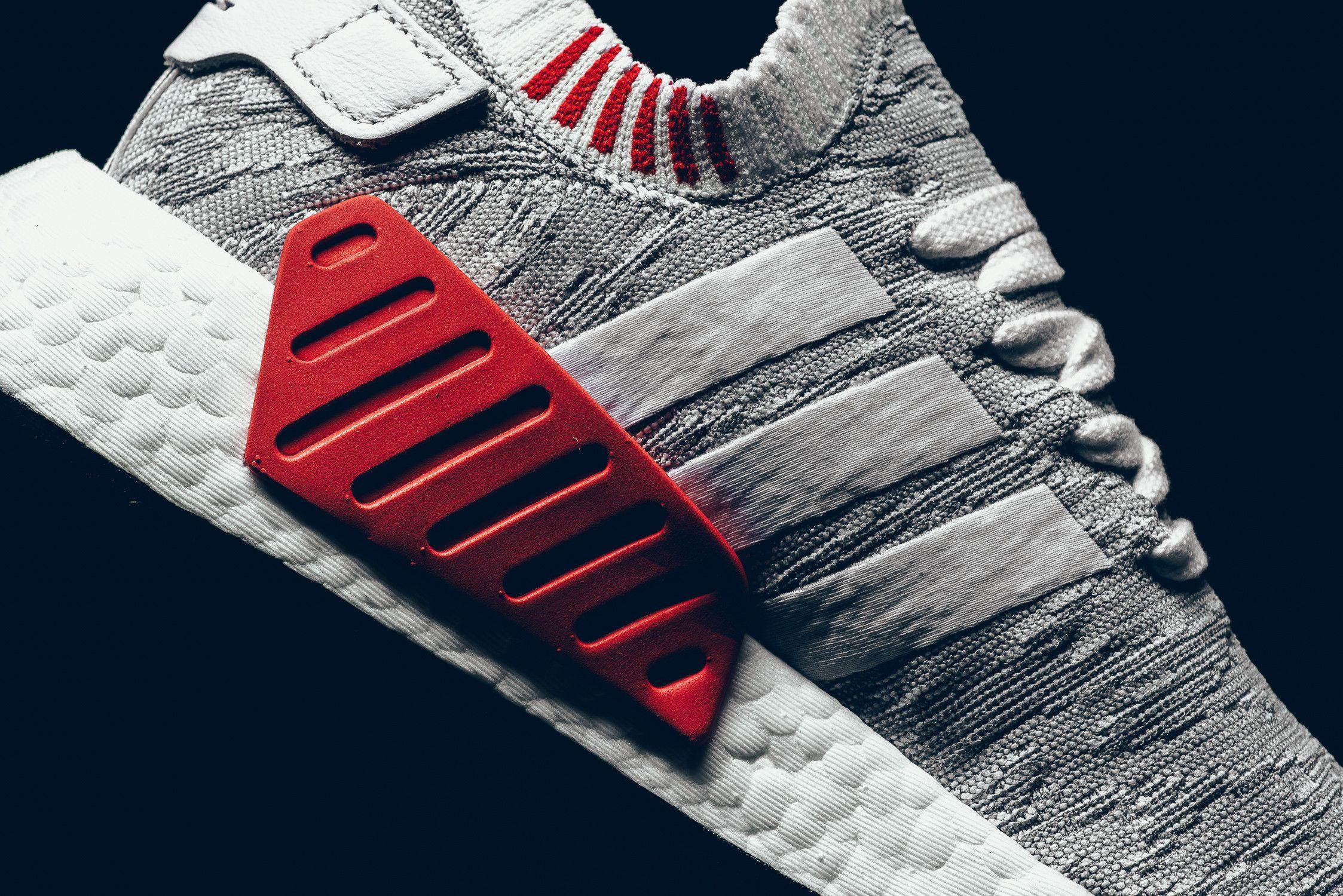 adidas-NMD-R2-Primeknit-White-Grey-Red-6