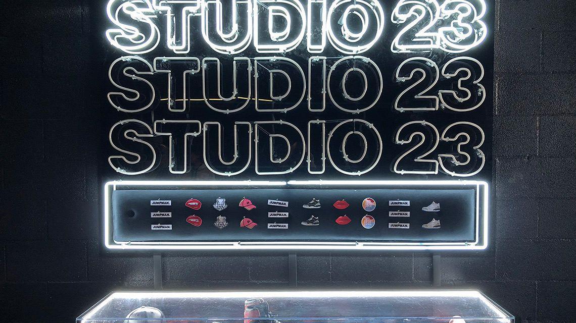 DENTRO DE JORDAN BRAND'S STUDIO 23 EN LOS ÁNGELES