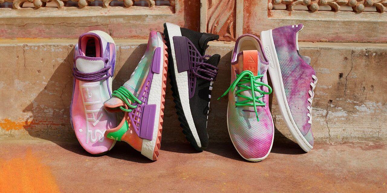 adidas Originals by Pharrell Williams — Hu Holi adicolor Colección Primavera/Verano 2018