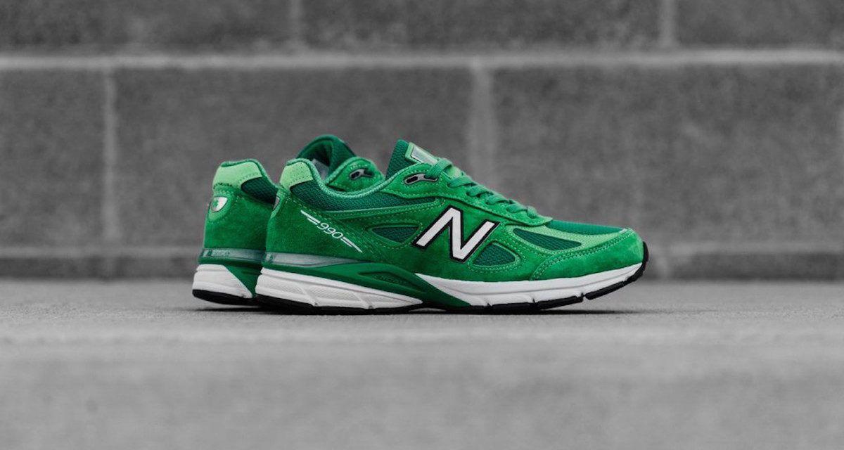 New Balance celebra el día de San Patricio con «New Green» 990