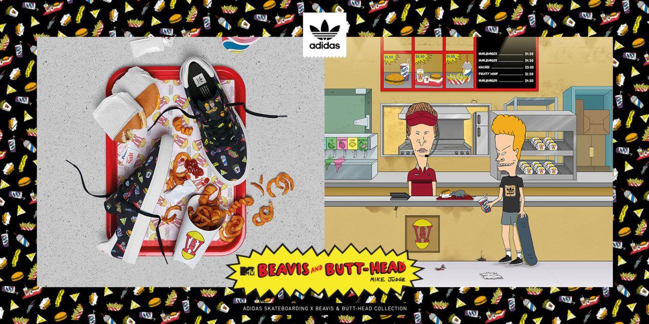 adidas Skateboarding revela su colaboración con Beavis y Butthead