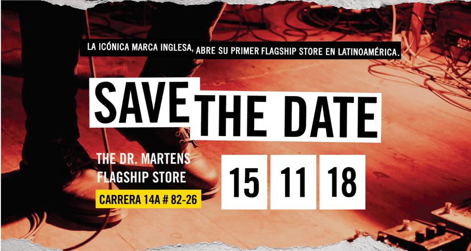 Dr Martens abre su nueva Flagship Store en Bogotá