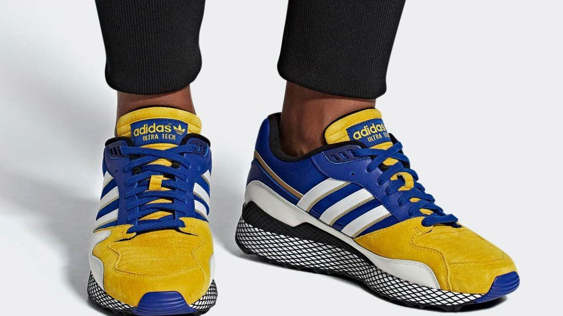 adidas Originals Ultra Tech y su edición inspirada en Vegeta