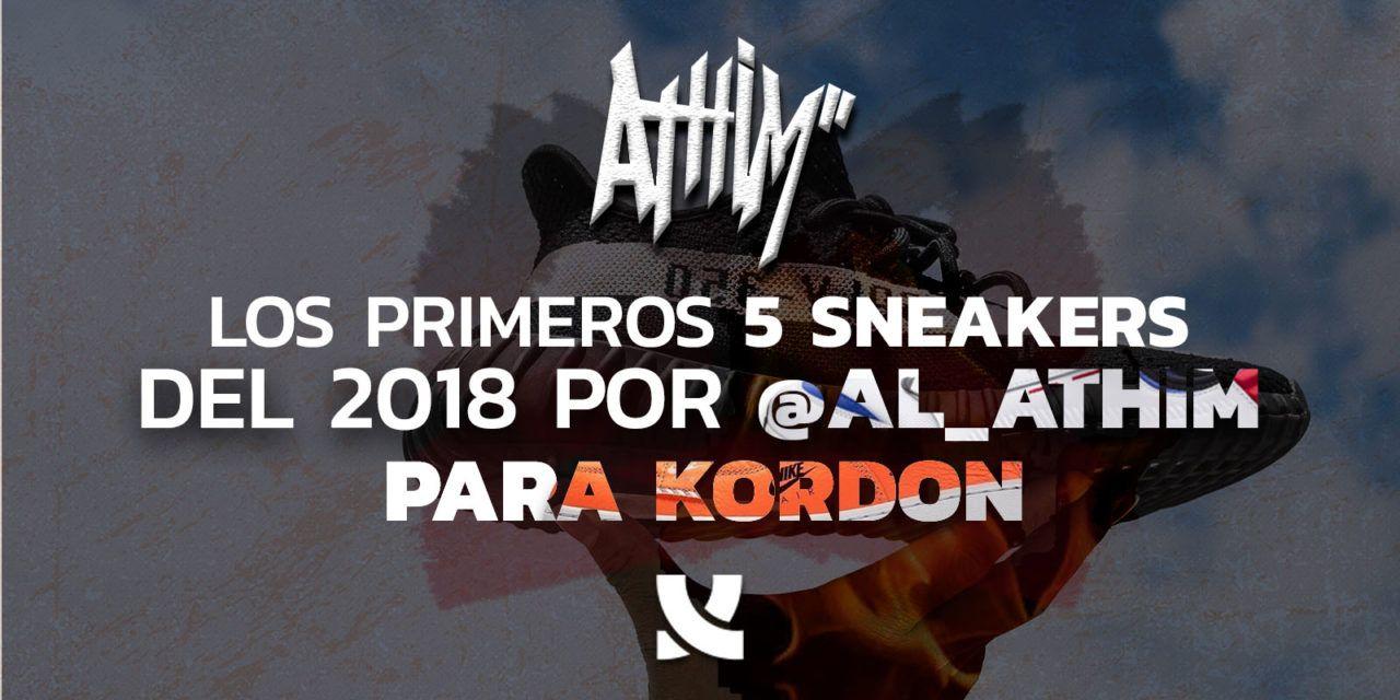 Los 10 Mejores sneakers de 2018, por Al Athim