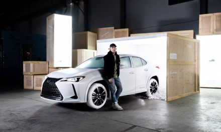John Elliott crea neumáticos inspirados en los Air Force 1 para el Lexus UX