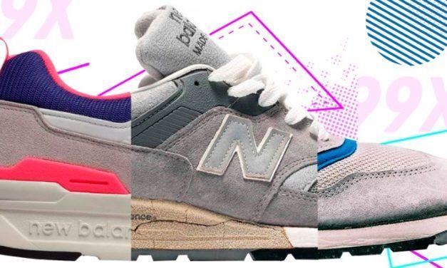 New Balance 99X: Primer Parte (1982-1998)