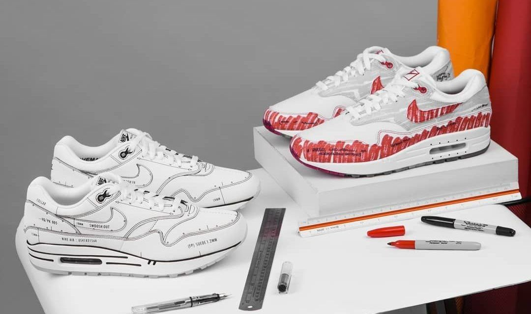 "Nike Air Max 1 ""Sketch to Shelf"" Pack"