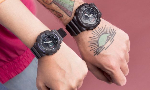 GShock viaja al pasado con este reloj