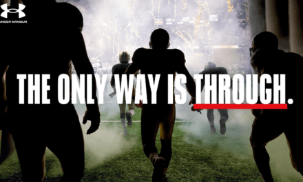 Under Armour presenta su campaña global «THE ONLY WAY IS THROUGH»