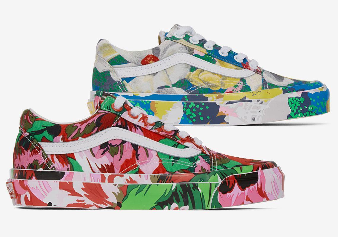 Colores y flores sobre los nuevos Kenzo x VANS | Kordon