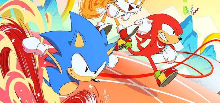 PUMA x Sonic para niños
