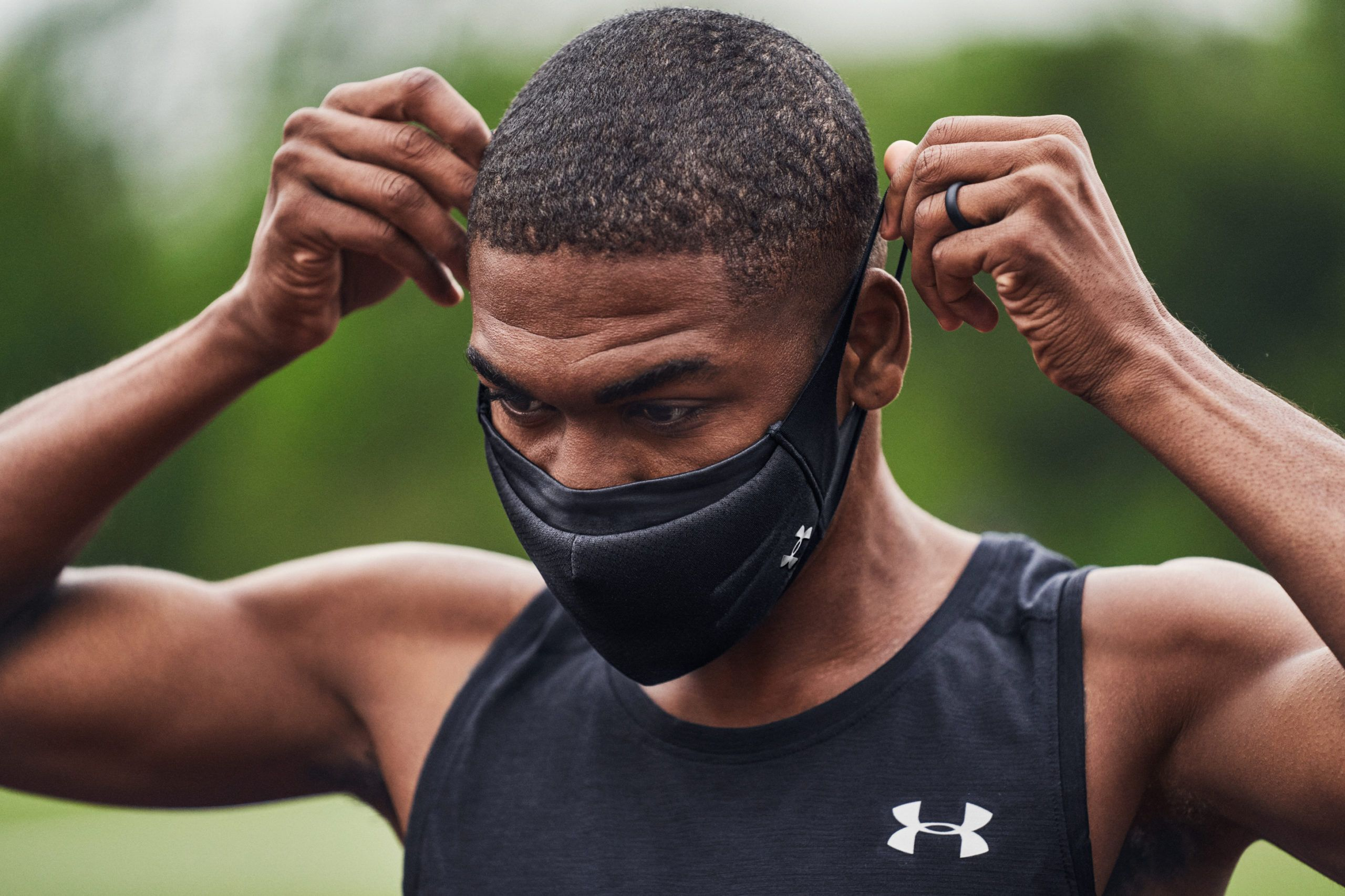 Under Armour reinventa las mascarillas UA Colombia Kordon.co