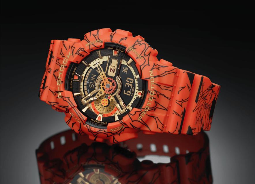 Casio G-Shock presenta relojes dedicados al animé