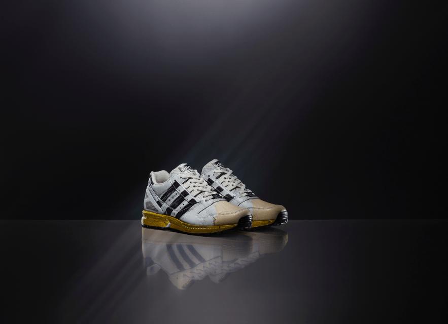 adidas Originals fusiona dos modelos icónicos en los zapatos ZX 8000 Superstar