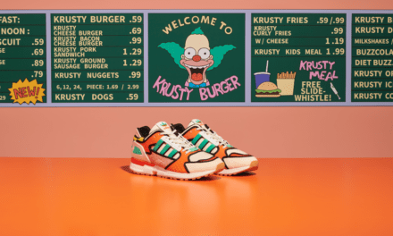 adidas Originals presentan ZX 1000 C Krusty Burger – K de Krusty Burger –