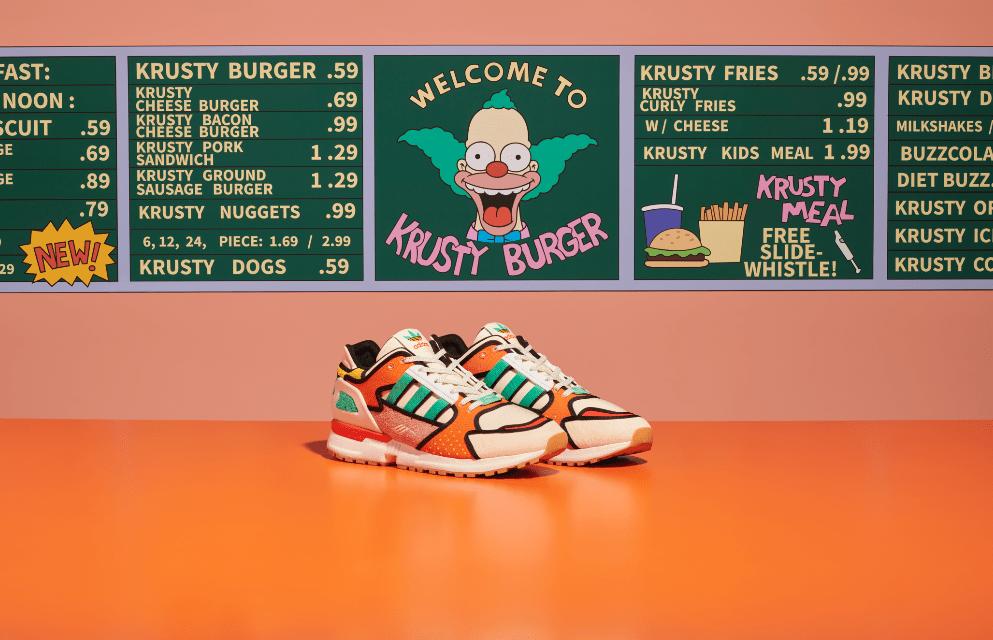adidas Originals presentan ZX 1000 C Krusty Burger – K de Krusty Burger –