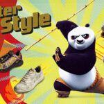 Reebok eleva el chi con la colección Kung Fu Panda