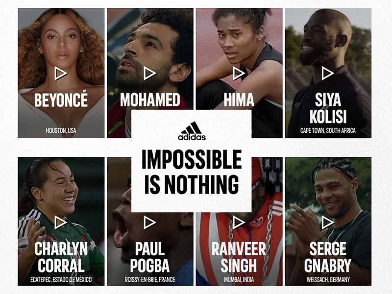 adidas Impossible Is Nothing