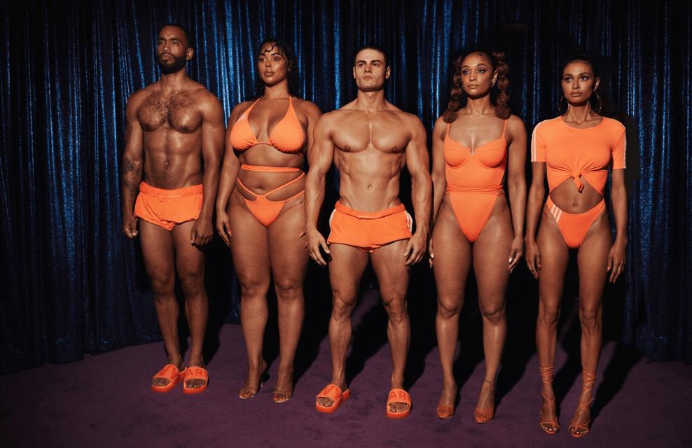 """adidas x IVY PARK lanzan la cápsula de trajes de baño """"FLEX PARK"""""""