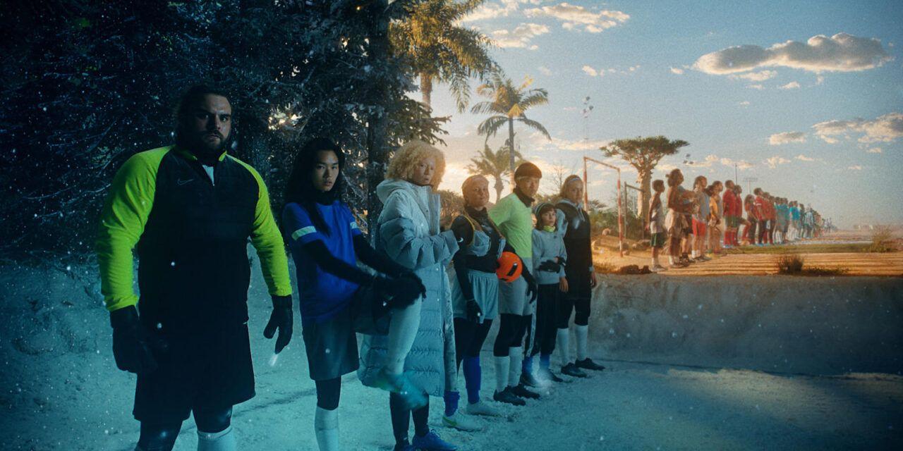 """""""Haz Algo Nuevo, la Tierra del Nuevo Fútbol"""" la campaña global de NIKE con la participación de la futbolista Natalia Gaitán"""