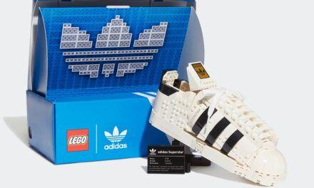 adidas Originals y LEGO Group lanzan un Superstar en colaboración